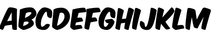 Komika Axis Font UPPERCASE