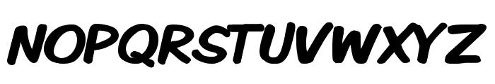 Komika Display Bold Font UPPERCASE