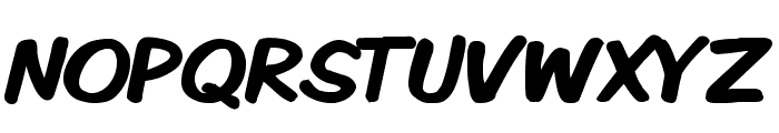 Komika Display Kaps Bold Font UPPERCASE