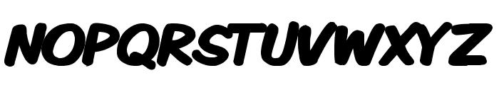 Komika Display Kaps Bold Font LOWERCASE