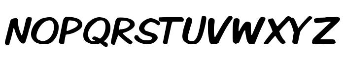 Komika Display Kaps Font UPPERCASE
