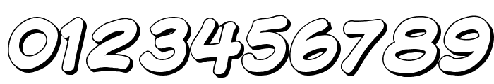 Komika Display - Shadow Font OTHER CHARS