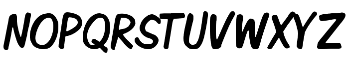 Komika Display Tight Font UPPERCASE