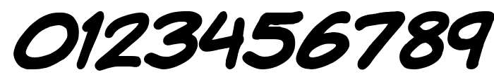 Komika Hand Bold Italic Font OTHER CHARS