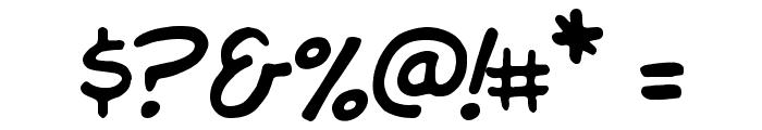 Komika Hand Font OTHER CHARS