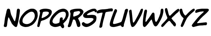 Komika Jam Italic Font UPPERCASE