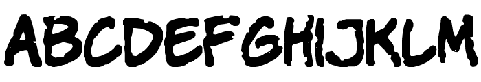 Komika Parch Font LOWERCASE