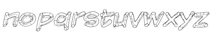 Komika Sketch Font LOWERCASE