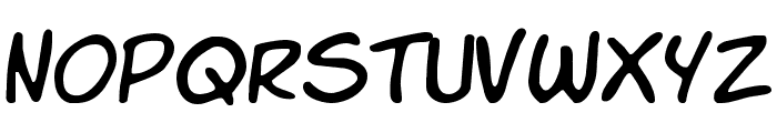 Komika Slim Font LOWERCASE