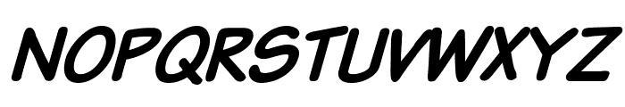 Komika Text Bold Italic Font UPPERCASE