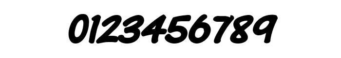 Komika Text Kaps Bold Italic Font OTHER CHARS