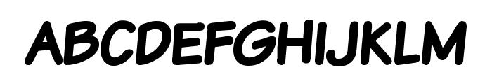 Komika Text Kaps Bold Font LOWERCASE
