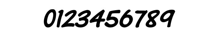 Komika Text Kaps Italic Font OTHER CHARS