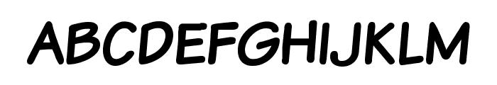 Komika Text Kaps Font LOWERCASE
