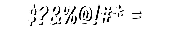 Komika Title - Emboss Font OTHER CHARS