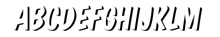 Komika Title - Emboss Font UPPERCASE