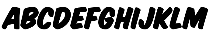 Komika Title - Paint Font LOWERCASE