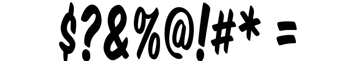 Komika Title - Tall Font OTHER CHARS