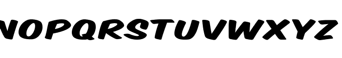 Komika Title - Wide Font LOWERCASE