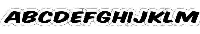 Komika Title - Wired Font LOWERCASE