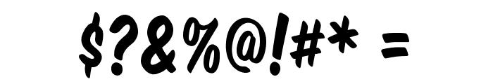 Komika Title Font OTHER CHARS