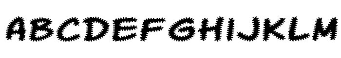 Komika Tread Font LOWERCASE