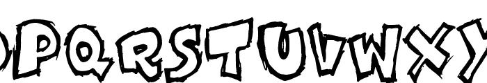 Komikoz Font UPPERCASE