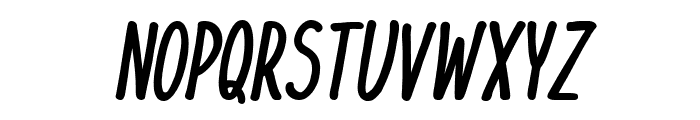 KomixCon Bold Italic Font UPPERCASE