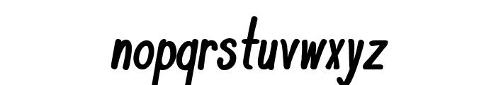 KomixCon Bold Italic Font LOWERCASE