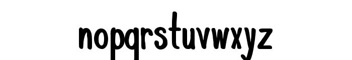 KomixCon Bold Font LOWERCASE