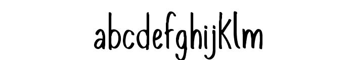KomixCon Font LOWERCASE