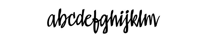 Kompar Light PERSONAL USE ONLY Font LOWERCASE