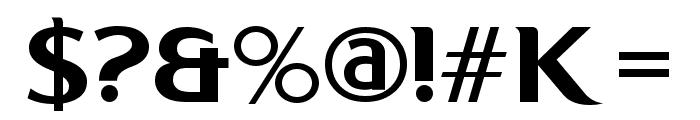 Kon System Font OTHER CHARS