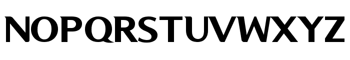 Kon System Font UPPERCASE