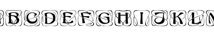 Konanur Kaps Font LOWERCASE