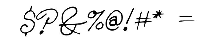 Konata Font OTHER CHARS