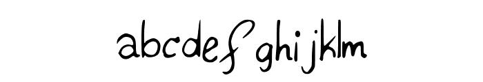 Konata Font LOWERCASE