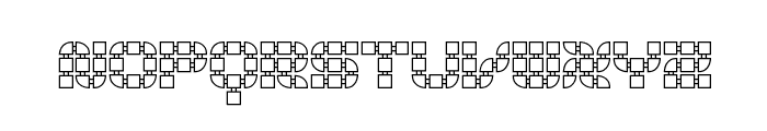 Konector O1 -BRK- Font UPPERCASE