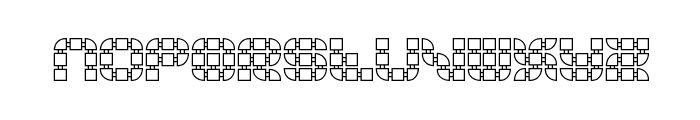 Konector O1 -BRK- Font LOWERCASE