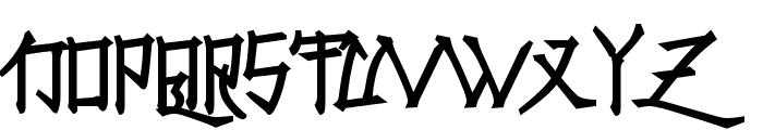 Konfuciuz Fat Font UPPERCASE