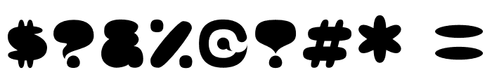 Kong Quest Font OTHER CHARS