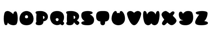 Kong Quest Font UPPERCASE