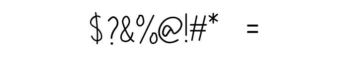 Konimasa Font OTHER CHARS