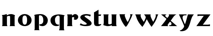 Konrad-Modern Font LOWERCASE