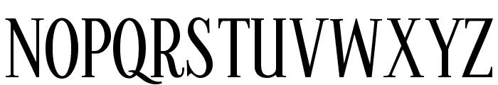 Kontor Display Font UPPERCASE