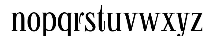 Kontor Display Font LOWERCASE