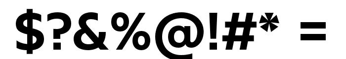 KontrapunktBob-Bold Font OTHER CHARS