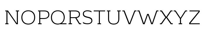 KontrapunktBob-Light Font UPPERCASE