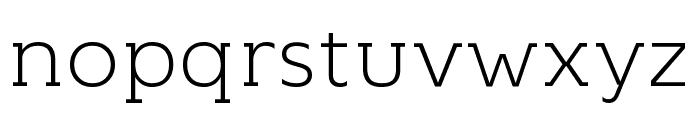 KontrapunktBob-Light Font LOWERCASE