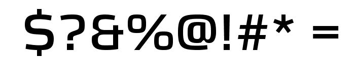 KontrapunktBold Font OTHER CHARS